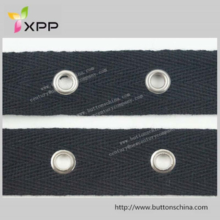 Cotton Tape with Eyelet