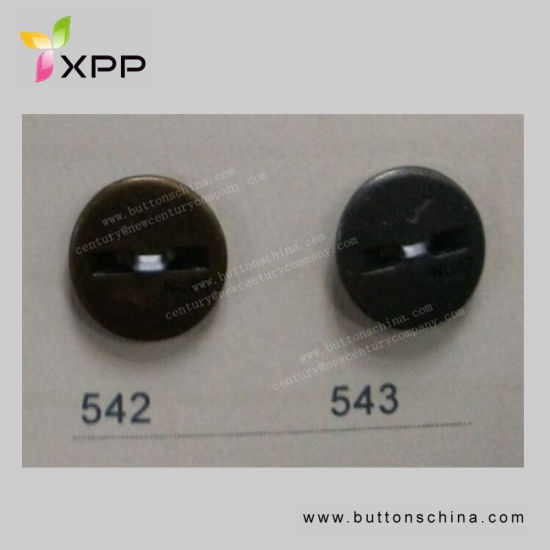 15mm New Style Glossy Metal Button with Logo
