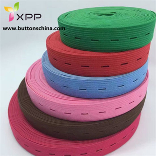 Elastic Button Tape Variant Color