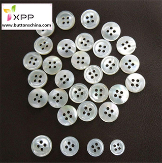 M. O. P. White Color Shell Button