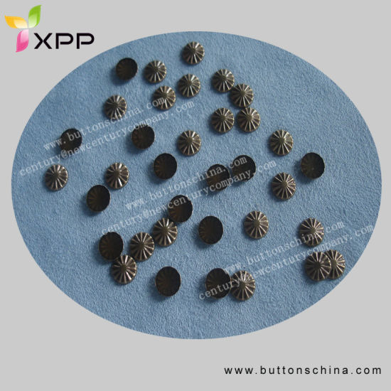 Round Hotfix Stud Anti Brass Color
