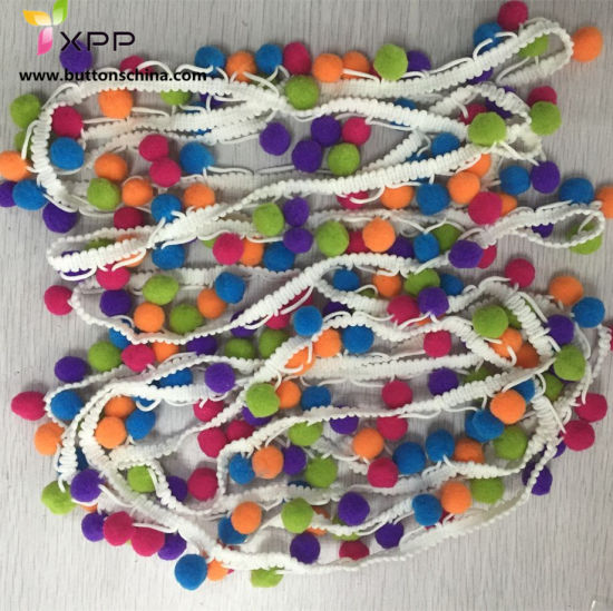 POM POM Chain Assort Color