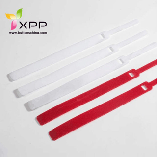 Back-to-Back Bandages Nylon Reusable Print Double Side Hook and Loop Ties Strap Tape