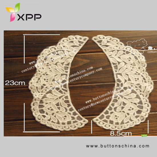 012 Good Quality Water-Soluble Collar Lace