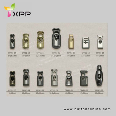 Alloy Stopper Series Toggle Plated Stopper