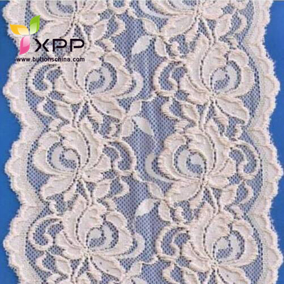New Style Beautful Nylon Webbing Fabric Lace for Cloth