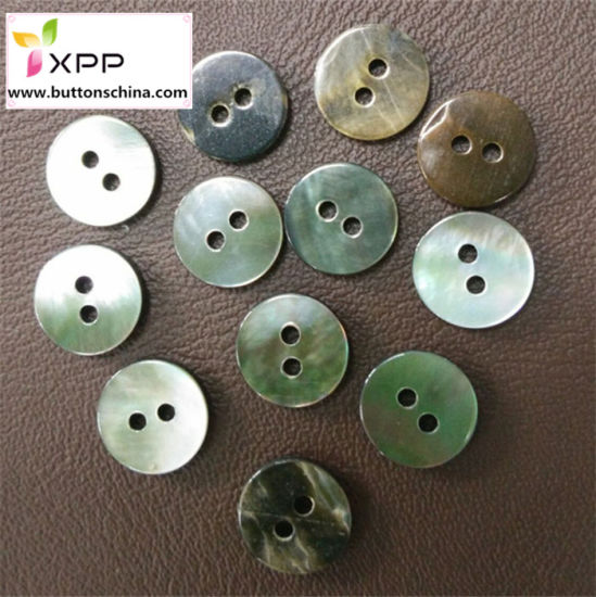 Natural Round Shell Button