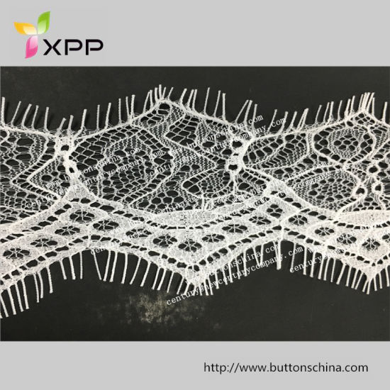 Underwear Superior Quality Shrink Resistance Lace Trimming with Oeko-Tex Certification