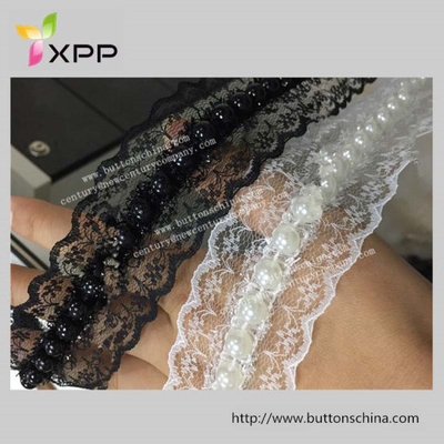 Hot Sales Korea Handmade Bead Tape with Lace