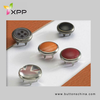 Dry Fit Customization Prong Snap Metal Button