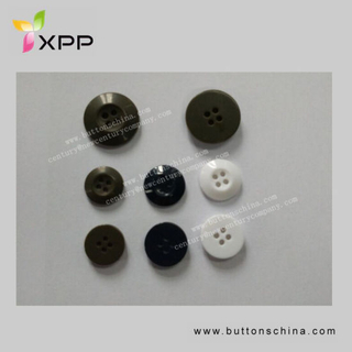 4h 14mm 15mm 20mm Plastic Resin Button for Shirt