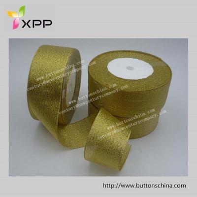Golden Ribbon for Gift Packing